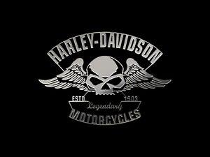 METALLIC Stickers Harley Davidson Tank Pegatina moto Aufkleber Autocollant Biker