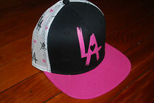 NEW Young and Reckless Y&R Los Angeles Heart LA Snapback Hat (Adjustable)