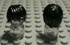 767 # Lego Figur Zubehör Haar Schwarz für Frau