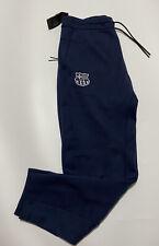 Nike FC Barcelona Barca Tech Fleece Pantalones Jogger Tamaño Mediano AH5463 455 Genuina