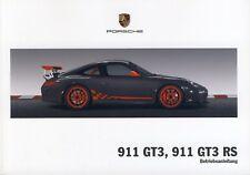 Porsche 997 GT3, GT3 RS Betriebsanleitung, Bedienungsanleitung, Mj. 2010