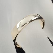 Tiffany & Co. 18 Ct Amarillo Pulsera Dorada Anillo 4.5mm Talla 8 Venta