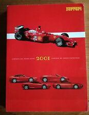 FERRARI OFFICIAL YEARBOOK  ANNUARIO 2001 ENGLISH  AND ITALIAN LANGUAGE