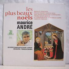 33T Maurice ANDRE Disque LP 16 + BEAUX NOËLS NOËL Trompette ERATO 71412 M RARE