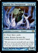 ARCANIS THE OMNIPOTENT Tenth Edition MTG Blue Creature — Wizard RARE