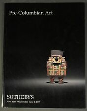 Sothebys Pre-Columbian Art Ny June 1999