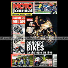 MOTO JOURNAL N°1929 VICTORY 1700 VEGAS BMW S1000 RR TRIUMPH 500 SPEED TWIN 2010