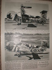 Photo article US army Vertical take off VTOL 1st tilt wing aircraft 1957 refO50s