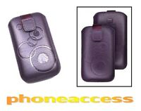 Housse / Etui Universel (Cuir) Taille S ~ LG T310 Cookie Style
