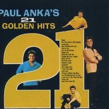 PAUL ANKA (SINGER/SONGWRITER) - 21 GOLDEN HITS NEW CD