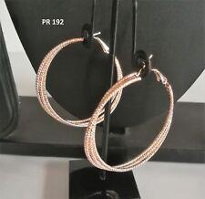 Indian Fashion Jewelery Trendy Jhumka Bali Hoop Rose Gold Danglers Earrings Sets
