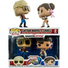 Funko 22767 TV Capcom Captain Marvel VS Chun-li Pop Vinyl Figure Multicolor