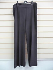 Ladies Trousers Black Size 12 Together Tailored Smart (g016