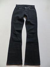 Levi's ® 529 Bootcut Jeans Hose W 27 /L 34, Schwarz ! Black Stretch Denim, RAR !