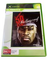 50 Cent Bulletproof XBOX Original PAL *Complete* Classics