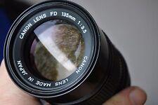 SONY NEX E/FE Mount lovely Canon telephoto 135mm LENS - A7r A7s A6000