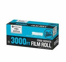 Member's Mark Food Service Plastic Saran Storage Film Wrap - 12 X 3000 feet Home