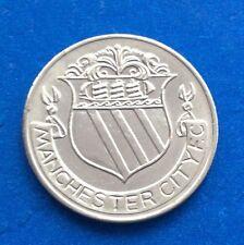 MANCHESTER CITY  FA CUP CENTENARY  (1872  - 1972 ) ESSO COIN / MEDAL