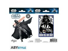 Stickers - Star Wars - Dark Vador - 2 planches de 16x11 cm - ABYstyle