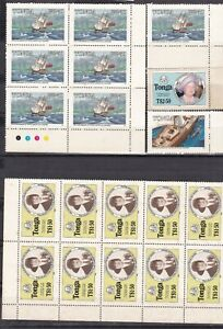 TONGA ^^^^^  Rarer  MNH  BLOCK of 10 ( Girls GUIDES)+ others@@dc777toga