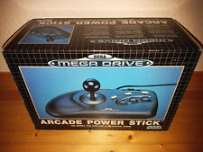 ## original SEGA MEGA DRIVE 3 Button Arcade Power Stick in OVP - TOP ##