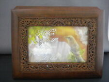 Music Box Mother You Light Up My Life Musical Keepsake Box Omb64