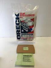 10-Oreck Celoc Hypo-Allergenic Filter Vacuum Bags Housekeeper Canister PKBB12DW