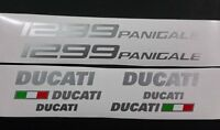 Ducati 1299 Panigale sticker / decal pack Metallic Silver or choose your colour.