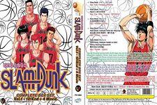 ANIME DVD Slam Dunk(1-101End+4Movie)English sub&All region FREE SHIPPING L6