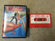 * Commodore 64 RARE Game * A VIEW TO A KILL THE COMPUTER GAME * C64