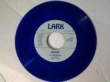 """Joe Darensbourg and his Dixie Flyers 45 """"Martinique"""" LARK 452 on BLUE-WAX"""