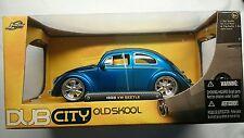JADA TOYS 1959 VW BEETLE 1:24 BNIB!! OLDSKOOL BLUE