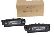 Original VW Seat Kennzeichenbeleuchtung Golf 5 Polo 9N Leon 1P Altea Leuchte