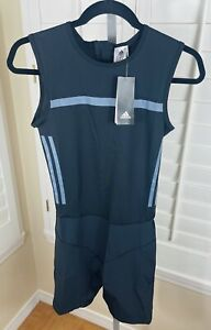 Adidas Women's CrazyPowerSuit Weightlifting Workout Training Zipper CW5660, Sz M