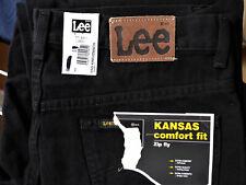 Lee KANSAS comfort Jeans Hose 36/34 XL 54 schwarz neu Zip fly Levis Diesel H&M