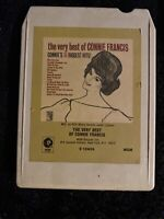 Connie Francis - The Very Best of Connie Francis - MGM 8 Track