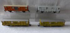 DDR Spur TT/ 1: 120 - 4 x 2achs. gedeckten Güterwagen -Bananen ASG Interfrigo