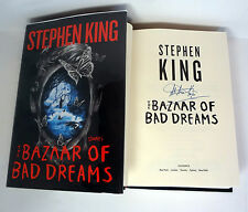 STEPHEN KING SIGNED THE BAZAAR OF BAD DREAMS 1ST EDITION/1ST PRINT BOOK
