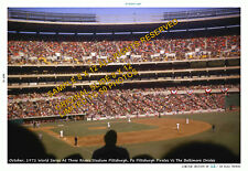 PITTSBURG PIRATES BALTIMORE ORIOLES 1971 W. SERIES 11x14 PHOTO DELUXE CLEMENTE