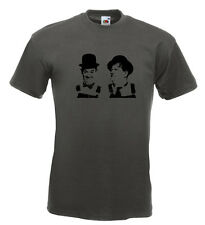 Laurel and Hardy T Shirt Marx Brothers Keaton Chaplin Stan Laurel Oliver Hardy