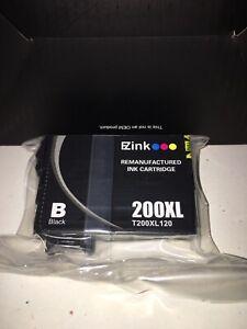 EZ Ink Black 200XL Remanufactured Ink Cartridge for Epson