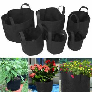 Potato Growing Bags Home Garden Vegetable Flower Grow Bag Aeration Pot Container