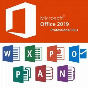 Microsoft Office 2019 Professional Plus  Alle Sprachen Vollversion