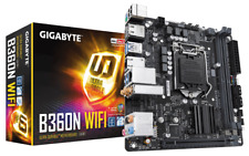 Gigabyte B360N WIFI Motherboard CPU i3 i5 i7 LGA1151 Intel DDR4 Dual HDMI M.2