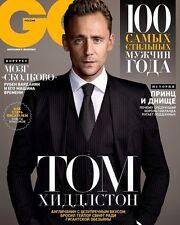 GQ Magazine RUSSIA March 2017 Tom Hiddleston KRISTEN STEWART Karl Lagerfeld NEW