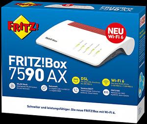 AVM FRITZ!Box 7590 AX v2 (20002929) von Händler ⭐⭐⭐⭐⭐