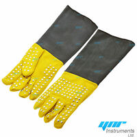 YNR® Snake Catcher Gloves Reptile Lizards Animal Handling Gloves Heavy Duty 20""