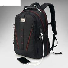 Men USB Charging Backpack Large Capacity Multifunction Waterproof Laptop Bag