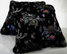"""Dragon Noir"" Pillow Pair, 15""x15"" by Mohawk Home"