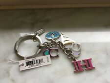 AUTHENTIC COACH Multi Color Letters Mix Key CHAIN - NWT F62741 - FREE SHIP